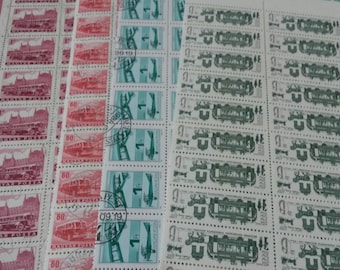stamps, transport  , crafting, scrapbook or collecting