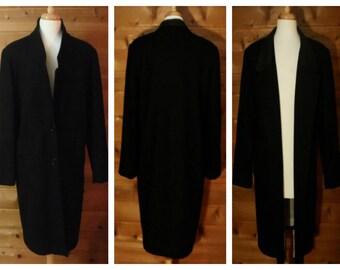 Men's vintage coat, wool coat, black coat, leather coat, winter coat, business coat, trench coat, long coat, formal coat, dinner coat | 13