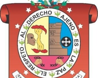 2 Pieces Oaxaca Mexico. Coat Of ArmsDecals Stickers Full Color/Weather Proof. U.S.A Free Shipping