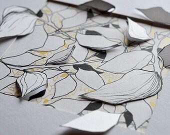 Screenprint and paper cut_1