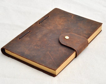 Personalised, travel journal, leather notebook, leather journal, sketchbook, note book handmade(free stamp)