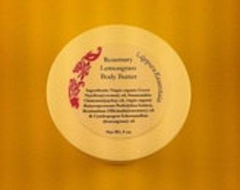 Rosemary Lemongrass Body Butter 8 oz