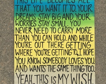 My wish for you painting