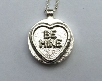 Love heart - solid sterling silver