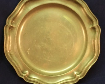 Antique 19th Century London Pewter Plate