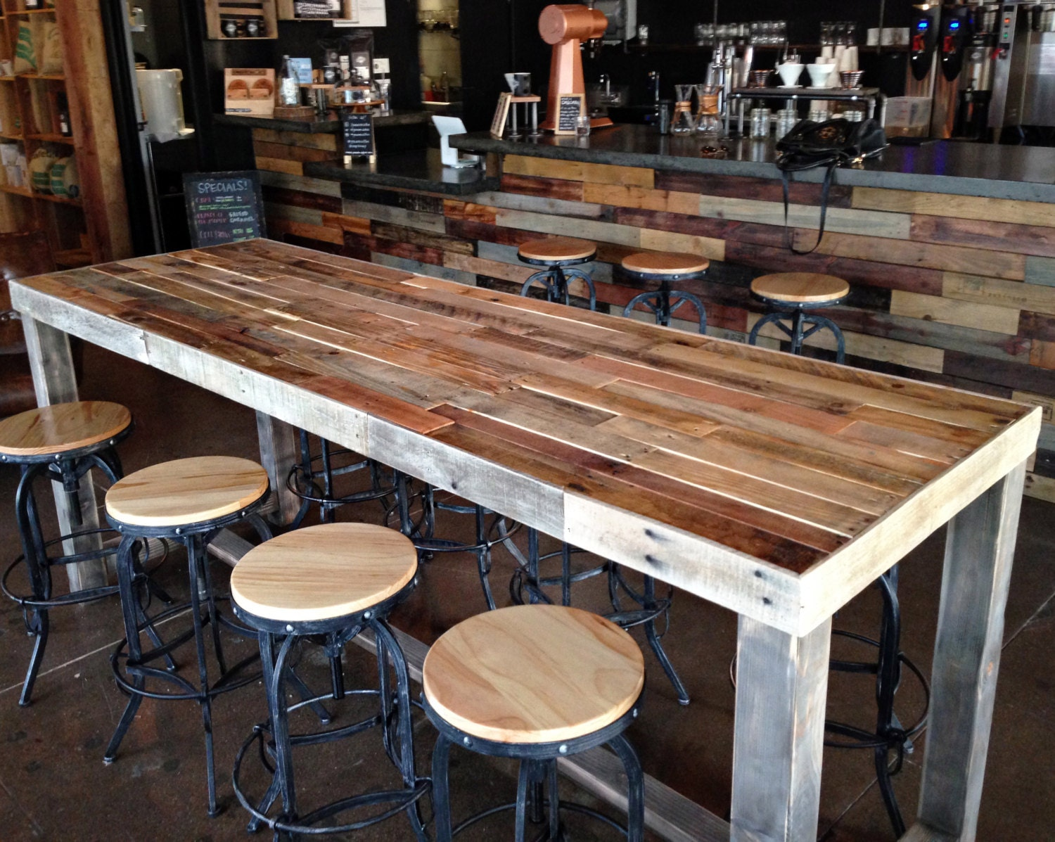 Restaurant Kitchen Table High Top Table Etsy