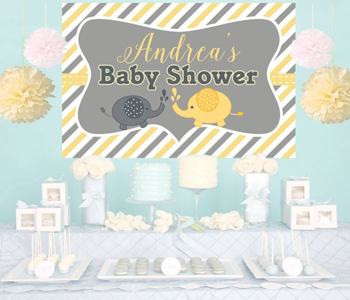 baby elephant backdrop baby shower cake backdrop by dazzlebabies
