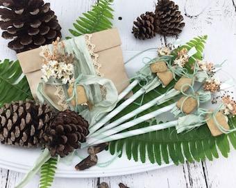 SERENE SEAFOAM Wildflower Seed Packet Gift Set