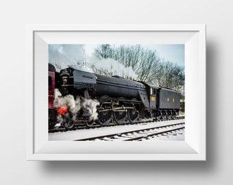 Flying Scotsman / Train / Railway / Steam / British / Ramsbottom / ELR