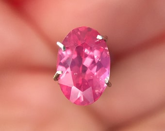 1.1ct Mahenge Pink Spinel Oval