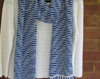 Tiger Lace Knit Scarf