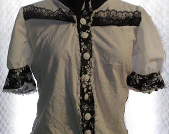 Short Sleeved Lolita Blouse