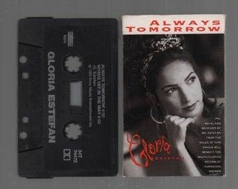 Vintage Cassette Tape : Cassette Single - Gloria Estefan - Always Tomorrow / Words Get In The Way 34T-74472