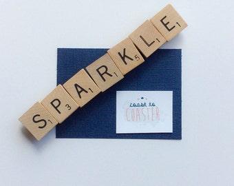 Scrabble Magnet, Scrabble Fridge Magnets, Scrabble Tile Magnets, Engagement Gift, Gift for Her