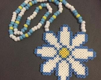 Daisy Perler Necklace