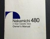 Nakamichi 480 Cassette De...