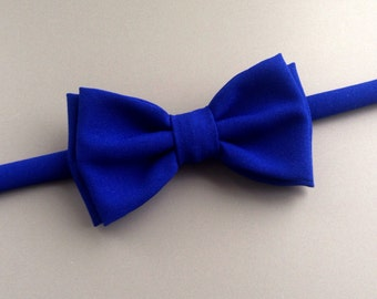 Royal blue bow tie for men baby teens groom groomsmen Blue wedding Anniversary gift for him husband High quality bow tie Noeud papillon