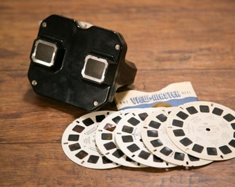 Vintage Sawyer's View-Master with Classic Reels - He Man, Hawaii, Variety, etc.