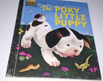 The Poky Little Puppy 1970 Little Golden Book