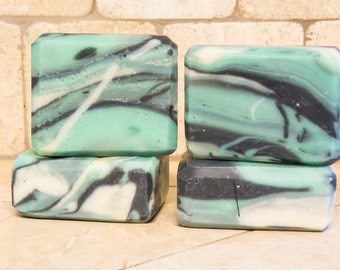 Green Clover and Aloe Cold Process Soap
