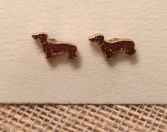 Dachshund Earrings