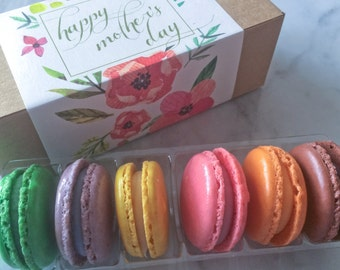Macaron Gift Box 1 dozen (up to 6 flavors)