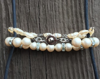 Salt & Fresh water pearl bracelet