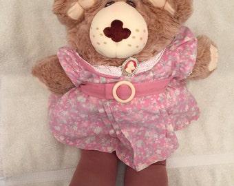 Large Vintage Furskins Bear Plush