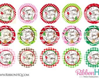 Baking Buddy,  bottle cap image, USDR, RibbonHQ, Christmas, hair bows, BCI, supplies, baking, scrap booking, cookies, seasonal, holiday