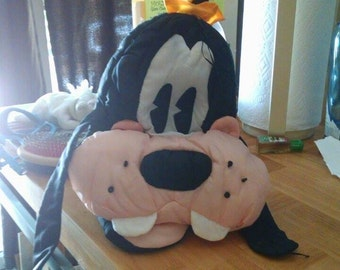 Goofy pillow cover/ storage