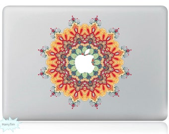 New Colorful Leaves Decal Mac Stickers Macbook Decals Macbook Stickers Apple Decal Mac Decal Stickers Laptop Decal 04