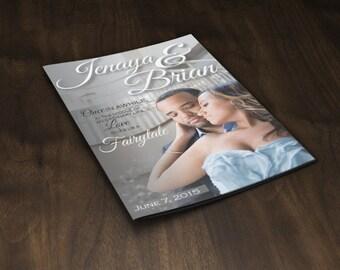 Wedding Magazine Programs Designed and Printed