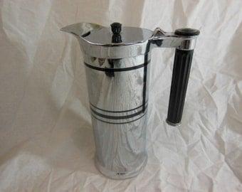 1934 Industrial Art Deco Coffee Carafe - Sunbeam