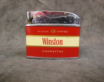 Winston Cigarette Lighter - Penguin