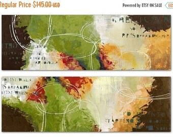 2-Piece Colour Splash Wall Decor