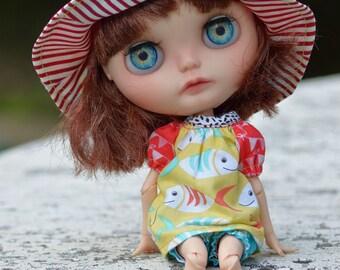 OOAK Custom Blythe doll Jamie