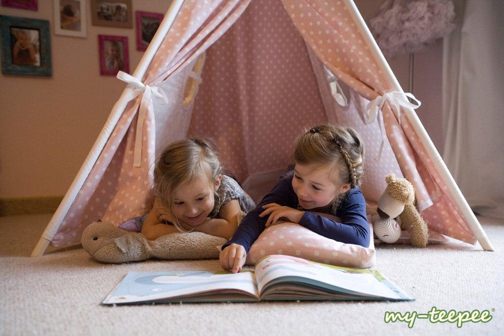 my teepee tente tipi pour gar ons ou filles de 2 8 ans. Black Bedroom Furniture Sets. Home Design Ideas