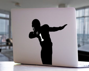 Carolina Panthers Quarterback Cam Newton Inspired Dab MacBook Decal -  NFL Football Sports Mac Laptop Vinyl Decal Sticker