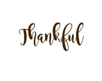 thanksgiving iron on decal thankful iron on decal iron on letters for shirt custom iron on decal iron on for her