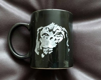 Hand painted mug inspired by The Neverending Story
