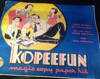 Kopeefun Magic Copy Paper Kit 1940s