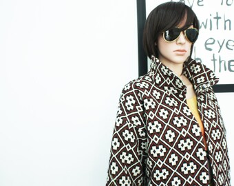 Hand made coat, Woven cotton,