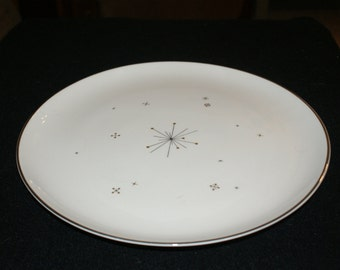 Syracuse Fine China, Evening Star pattern, Dinner plate