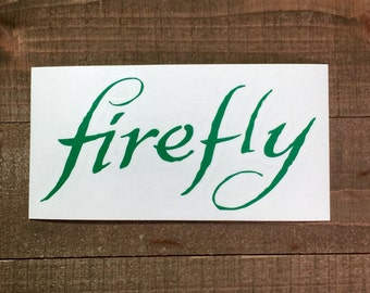 Firefly Decal