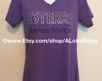 doTerra 2 Color Rhinestone T-Shirt