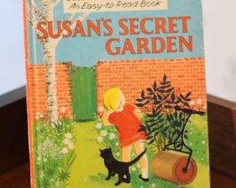 Susan's Secret Garden - 1950s children's book