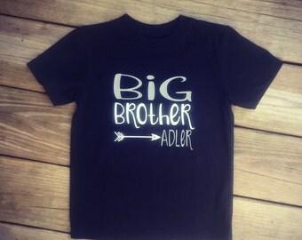 Big Brother & Name Short-Sleeve Tee / Arrow / Deeper Waters