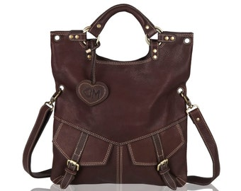 Limeira Leather Tote, Shoulder, Cross Body Bag
