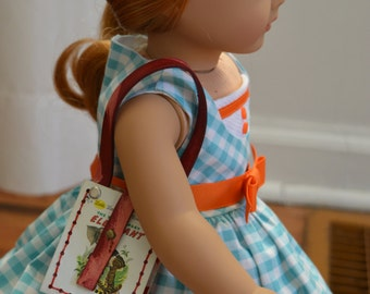 """The Saggy Baggy Elephant Book Purse for 18"""" play dolls such as American Girl® Dolls"""