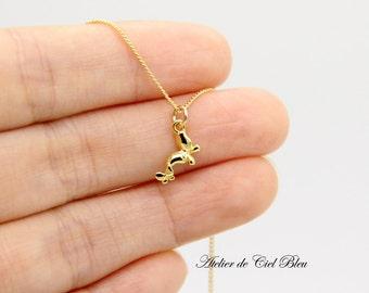 Butterfly Necklace, Tiny Butterfly Necklace, Tiny Gold Butterfly Necklace, Tiny Gold Charm Necklace, Butterfly Jewelry